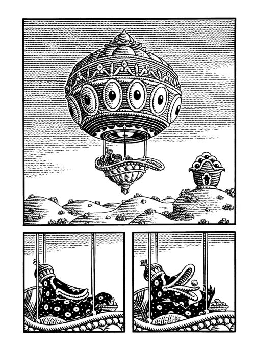 congress-of-the-animals_jim-woodring-7