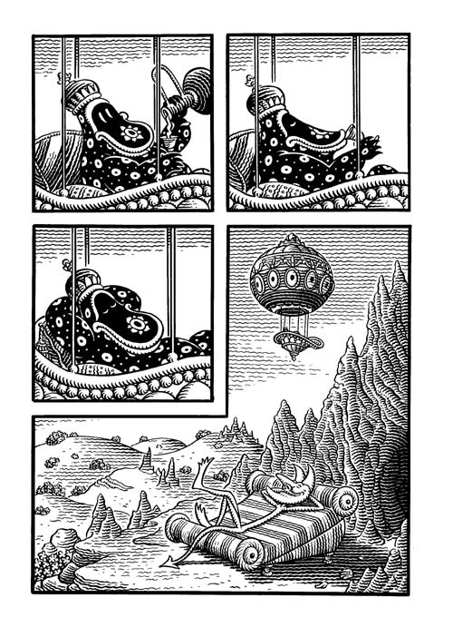 congress-of-the-animals_jim-woodring-8