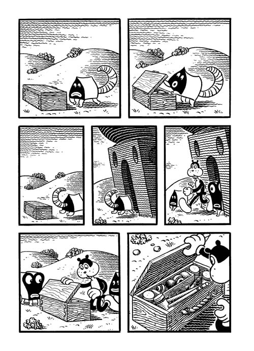 congress-of-the-animals_jim-woodring-12