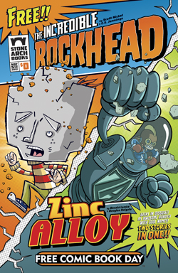 The Incredible Rockhead & Zinc Alloy 2-for-None