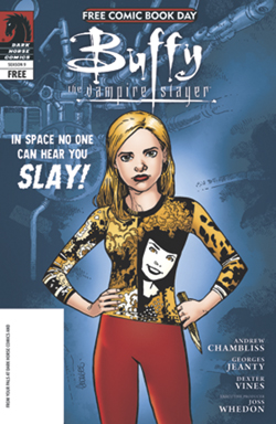 Buffy the Vampire Slayer / The Guild Flip-Book (Buffy Cover)