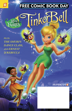 The Smurfs / Disney Fairies Featuring Tinker Bell Flip-Book (Tinker Bell Cover)