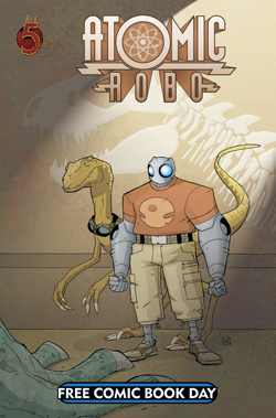 Atomic Robo & Friends 2012