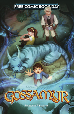 Finding Gossamyr & The Stuff Of Legend IV (Gossamyr Cover)