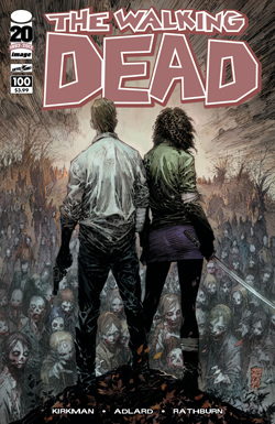 WALKING DEAD #100 MARC SILVESTRI COVER