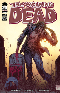 WALKING DEAD #100 TODD MCFARLANE COVER