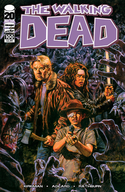 WALKING DEAD #100 SEAN PHILLIPS COVER