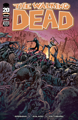 WALKING DEAD #100 BRYAN HITCH COVER