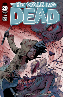 WALKING DEAD #100 RYAN OTTLEY COVER