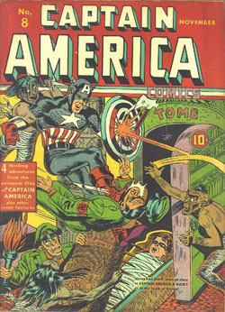 Captain America Comics #8 (1941)
