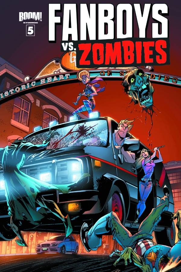 FANBOYS VS ZOMBIES #5 MAIN CVRS