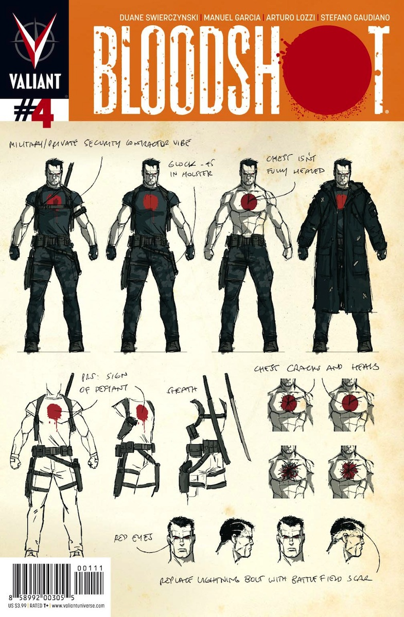 Bloodshot #4 Design Variant