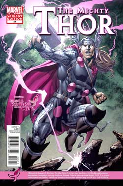 MIGHTY THOR #21 KOMEN VARIANT