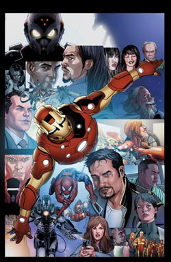 INVINCIBLE IRON MAN #527  FINAL ISSUE LARROCA VARIANT