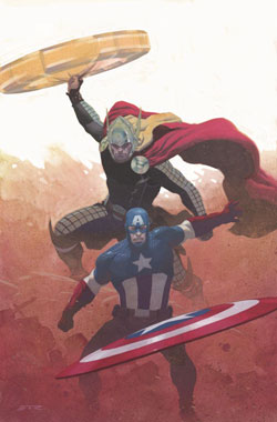 AVENGERS #1 RIBIC VARIANT