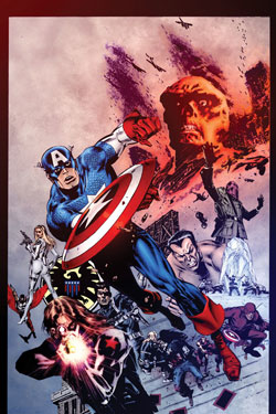 CAPTAIN AMERICA #19 FINAL VARIANT