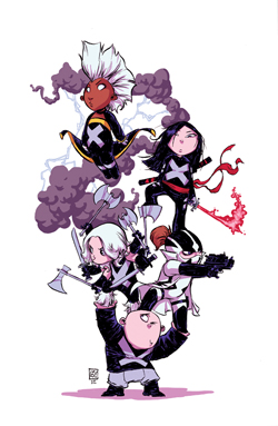 UNCANNY X-FORCE #1 YOUNG VARIANT