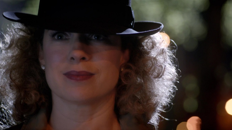 The singularly gorgeous Alex Kingston as River Song/Melody Malone