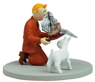 Moulinsart Tintin Oscar Black Figurine by Diamond Comic Distributors