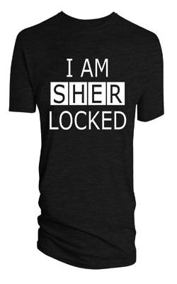 "BBC'S Sherlock: ""I Am Sherlocked"" T-Shirt - Previews World I Am Sherlocked Shirt"