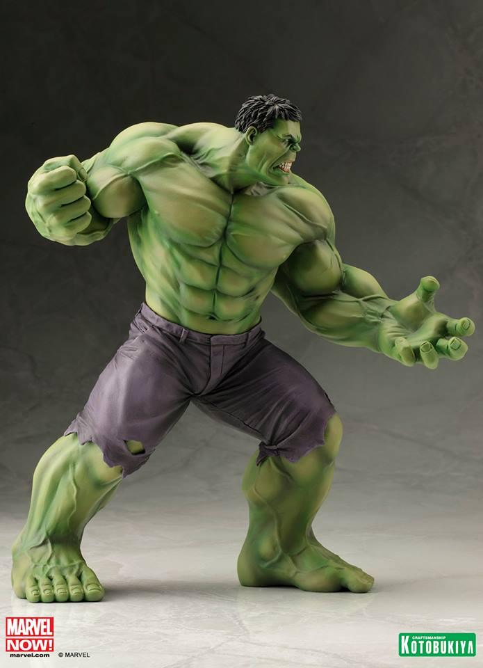 Hulk Statue Diamond Comic Distributors OCT132006 Kotobukiya Marvel Comics ArtFX