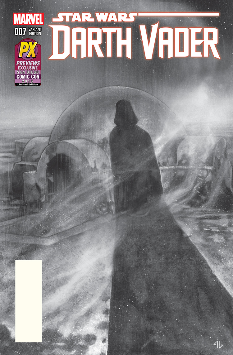 2015 SDCC Star Wars DARTH VADER # 7 Comic~ Diamond Previews PX EXCLUSIVE Variant