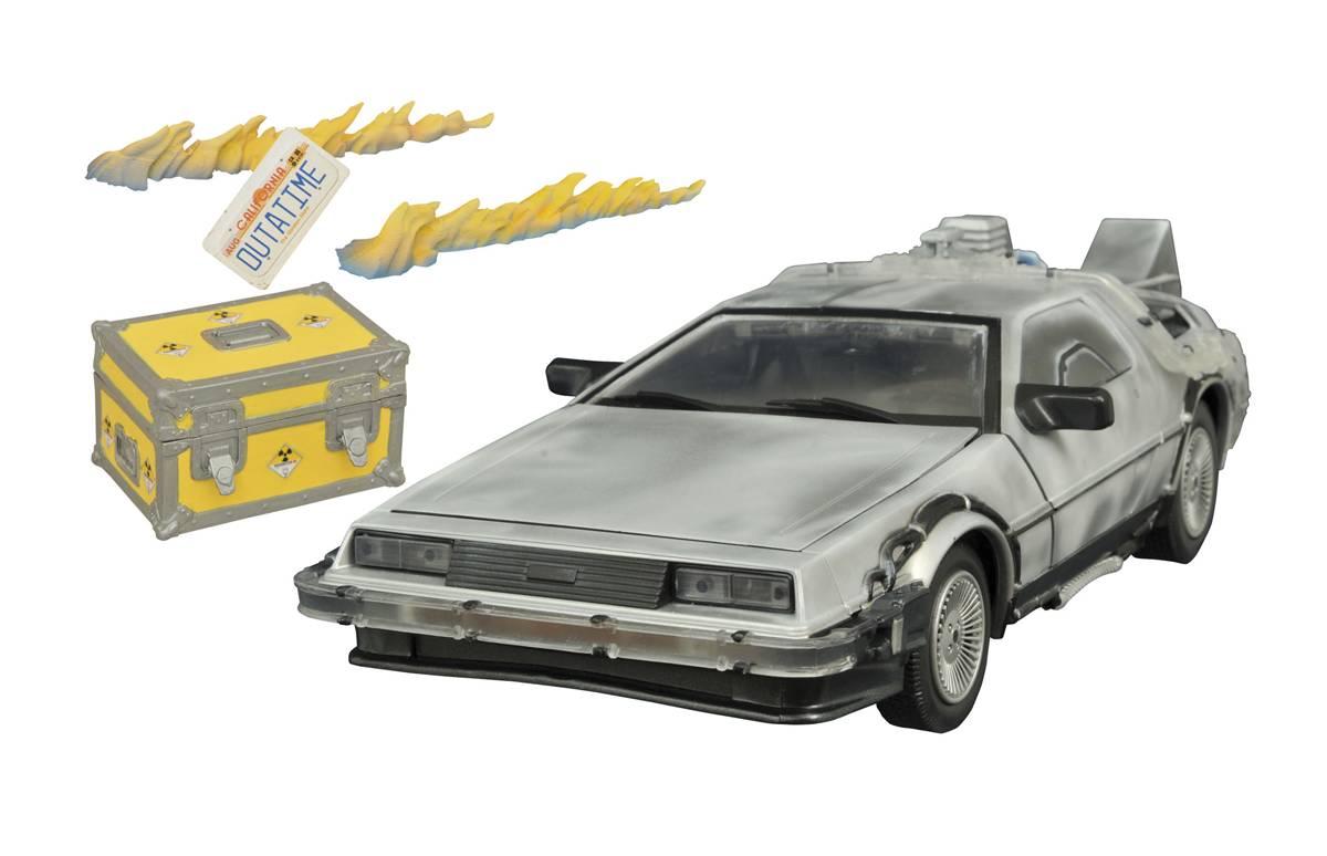 DIAMOND SELECT TOYS Back to the Future Trilogy Part 2 Tumbler Toy Diamond Comic Distributors JUL152200