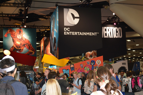 DC Booth Rocks The House At San Diego Comic Con - Previews World
