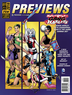Back Cover -- DC Entertainment's Harley Quinn and the Gang of Harleys