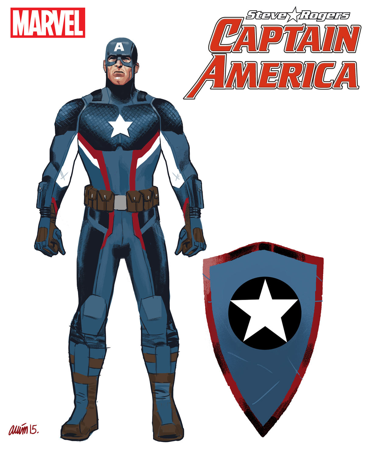 173837 Steve Rogers Back As Captain America on Latest Writing A Mission Statement