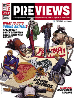 Front Cover -- DC Entertainment's Doom Patrol