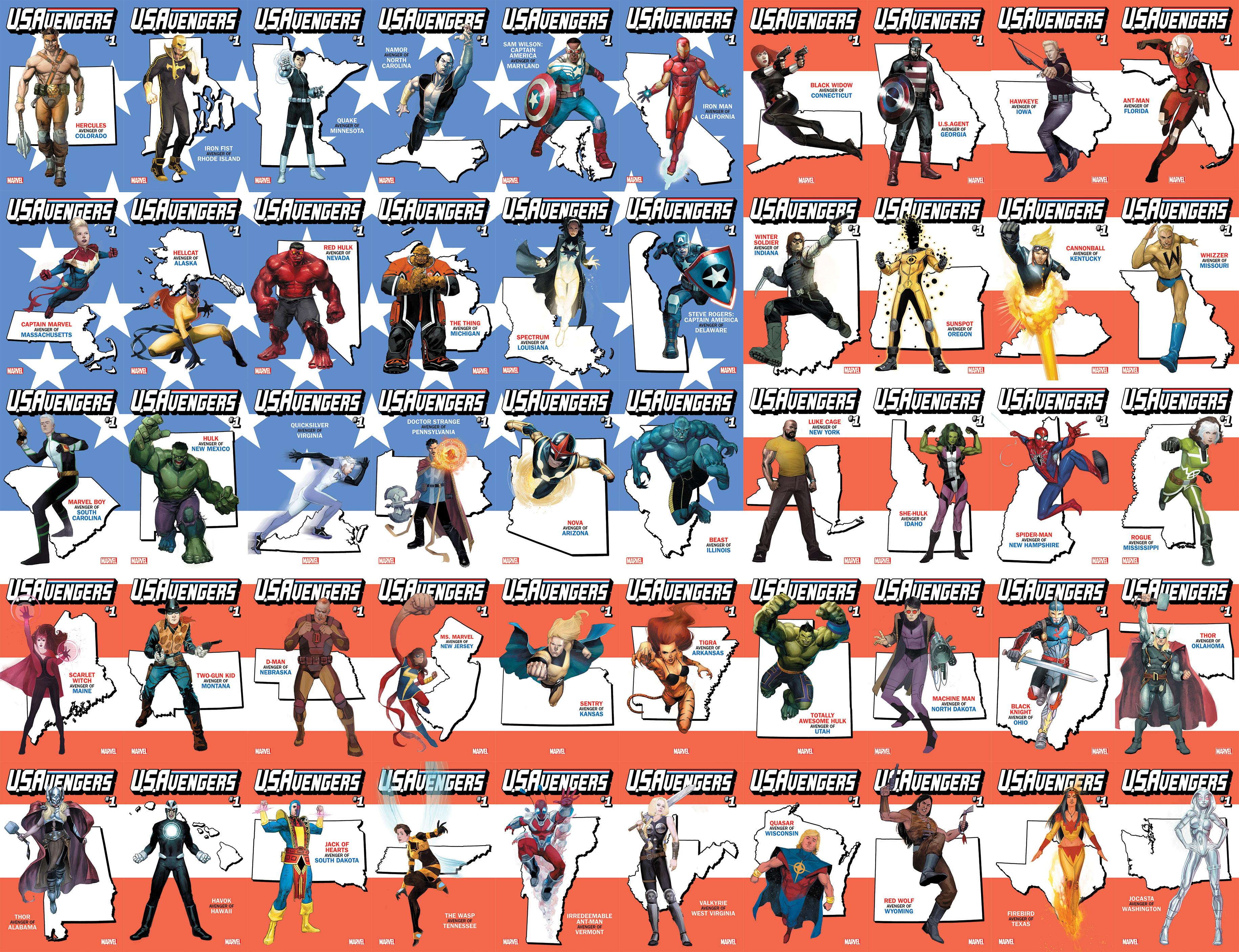 Bandera de U.S.Avengers