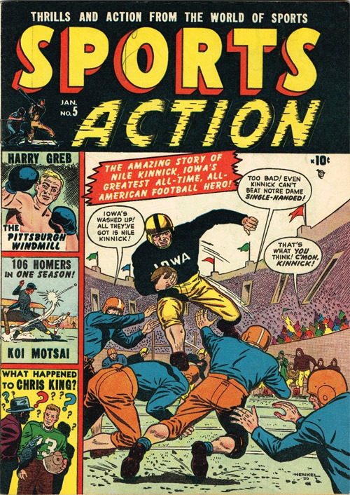 Classic Football Comics For Super Bowl Sunday Previews World
