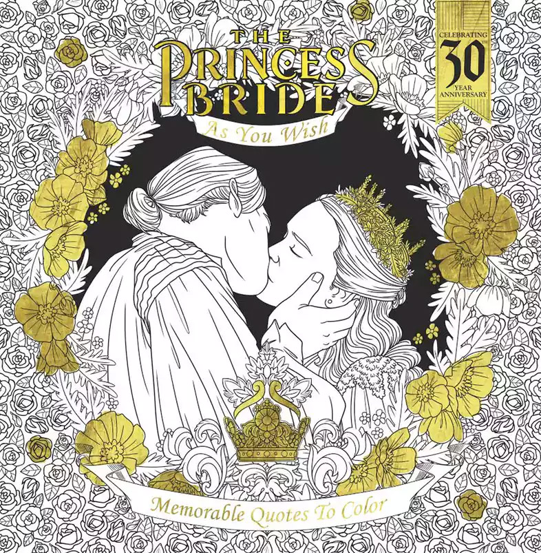The Princess Bride Returns With Another Coloring Book For 30th ...