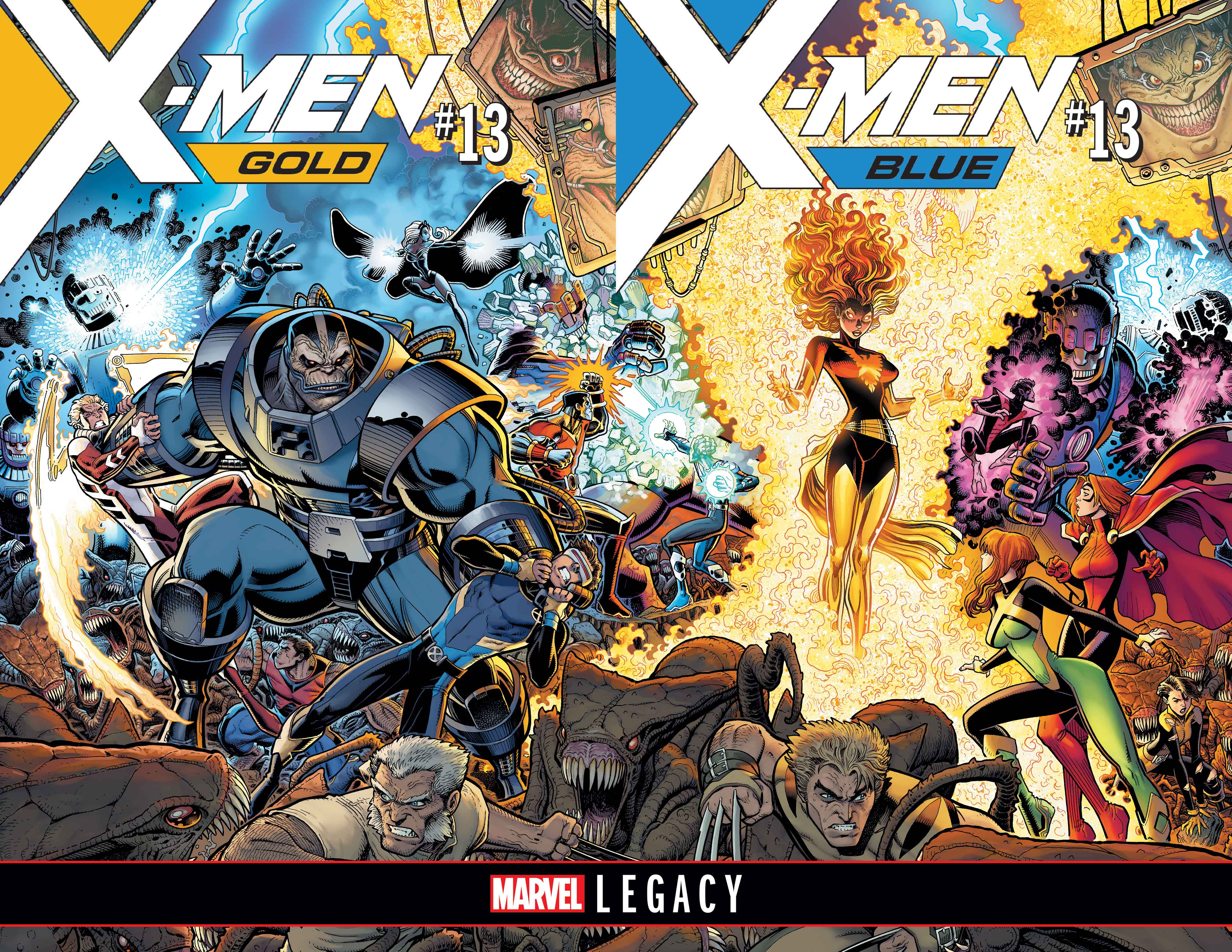 marvel legacy unveils new series falcon x men blue and gold and
