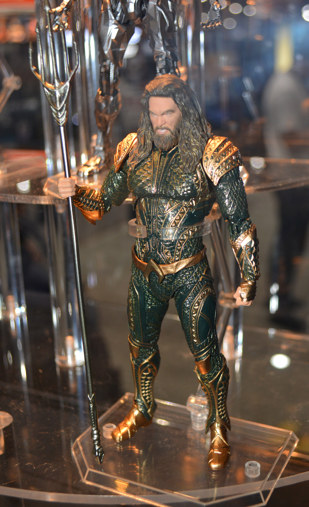 justice league movie mafex figures revealed at sdcc 2017