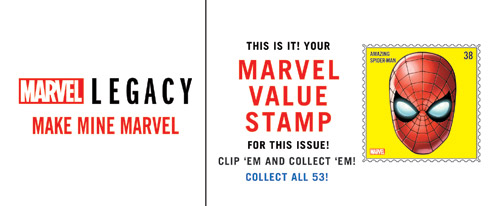 They're Back! Marvel Legacy Re-Introduces Marvel Value Stamps