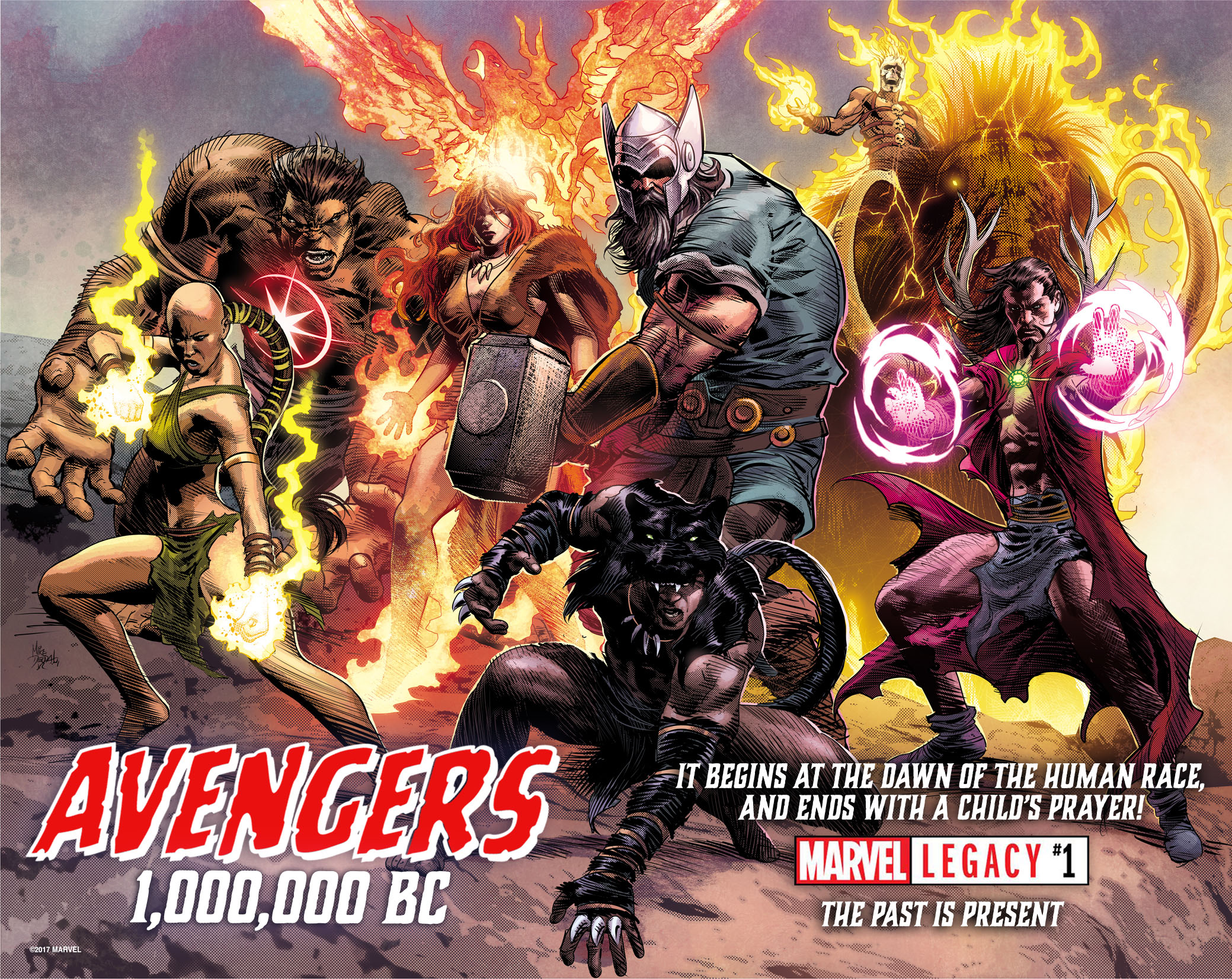 marvel legacy 1 introduces the avengers of 1000000 bc and thats only the opening of the most important comic story of the year - Avengers Marvel