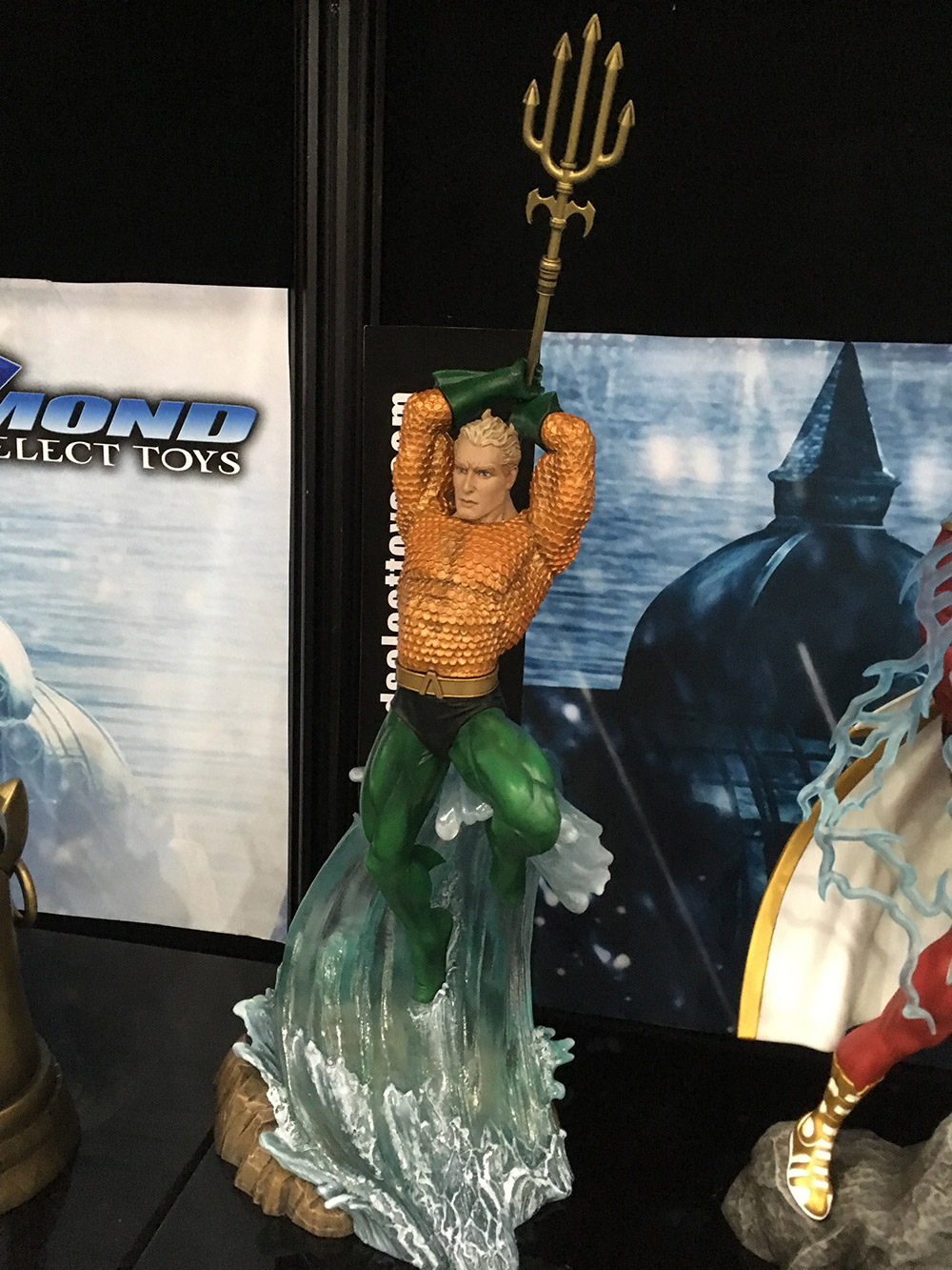 Toy Fair 2018 New Dc Gallery Pvc Statues From Diamond