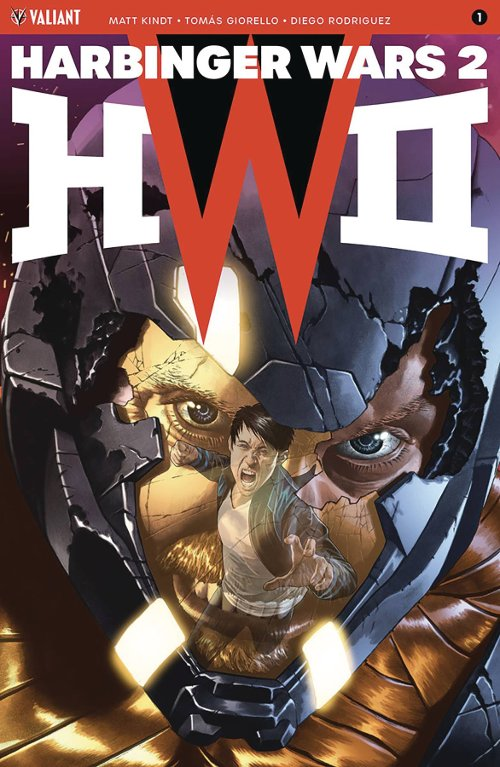 Valiant Entertainment's Harbinger Wars 2 #1