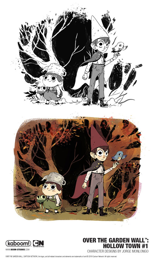 print copies of over the garden wall hollow town will be available for sale in september 2018 at local comic book shops - Over The Garden Wall Comic