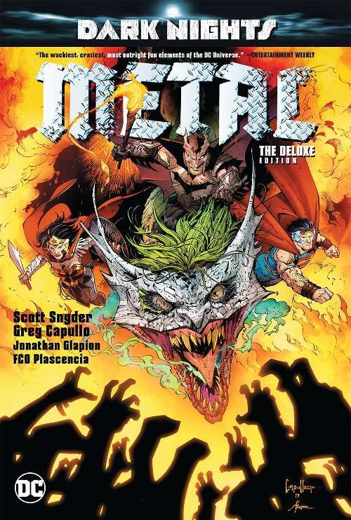 DC Entertainment's Dark Nights: Metal Deluxe Edition Hardcover