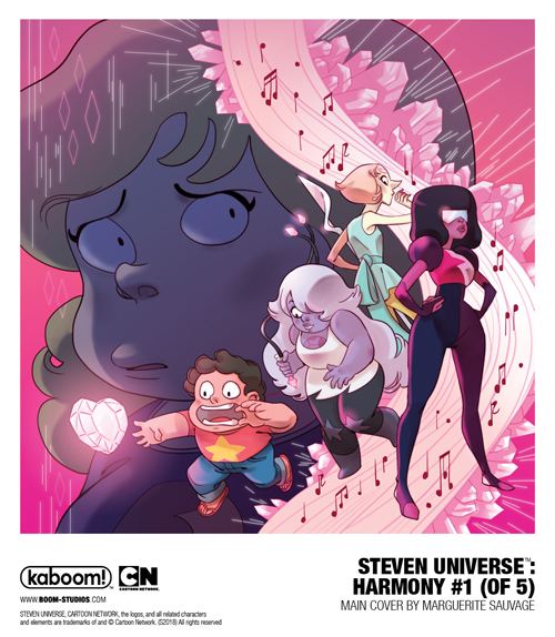 your first look at steven universe harmony 1 previews world