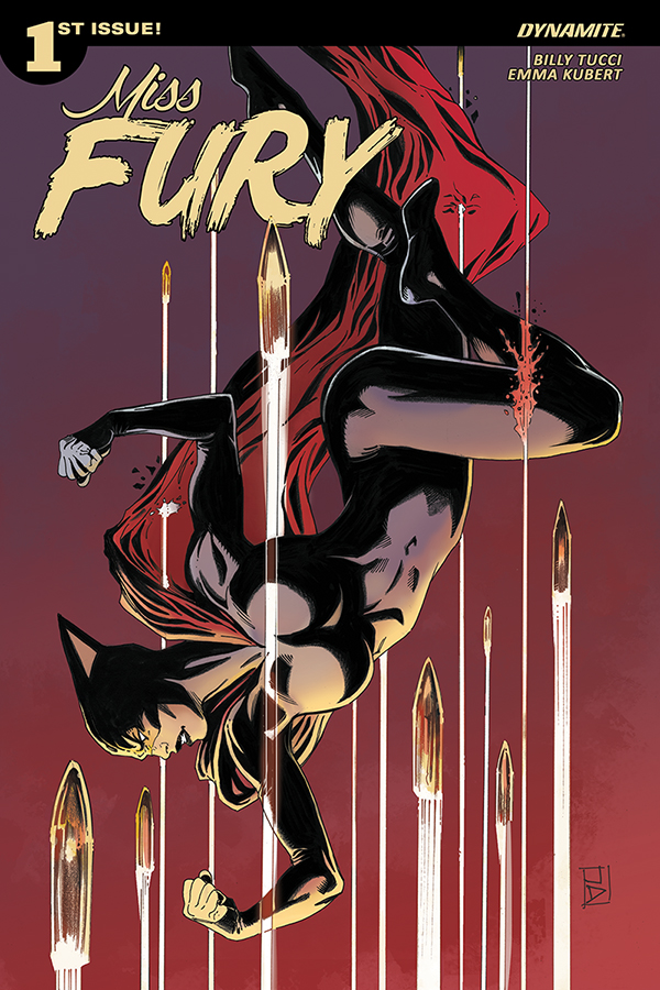 Dynamite Signs Billy Tucci For Miss Fury Ongoing Comic