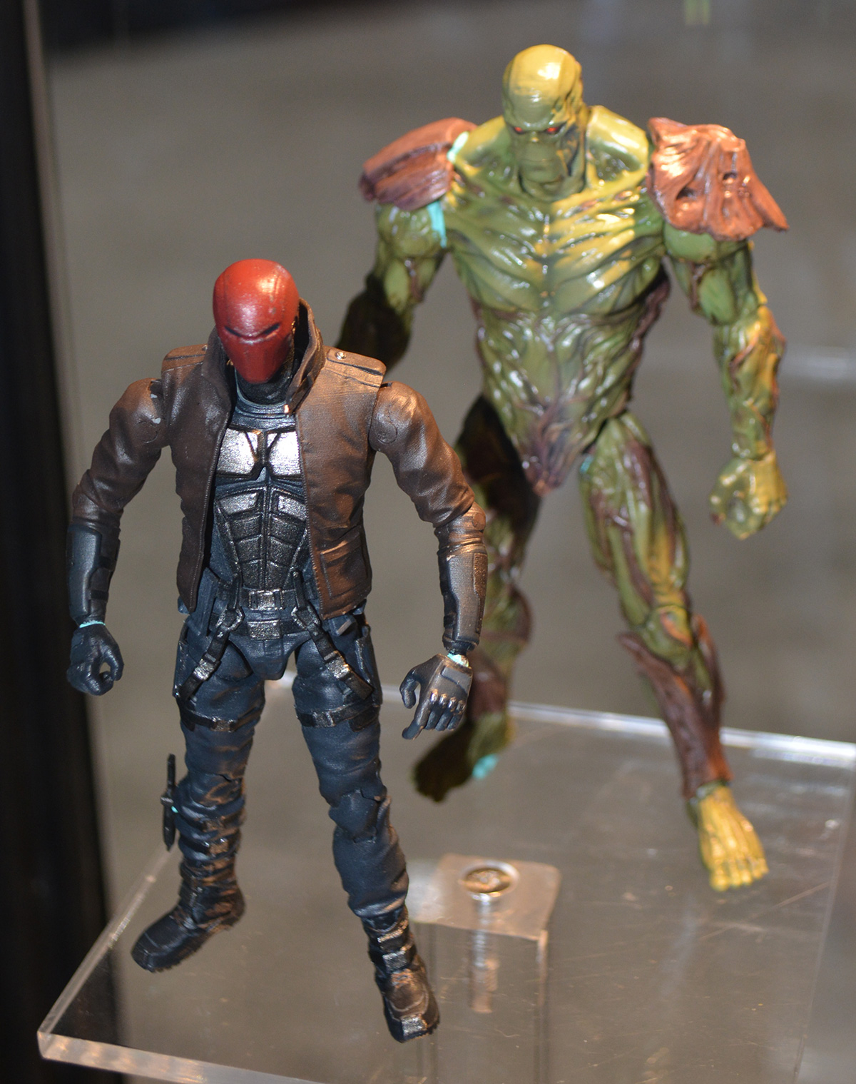 Toys For Injustice : New toys on display at the previewsworld sdcc booth