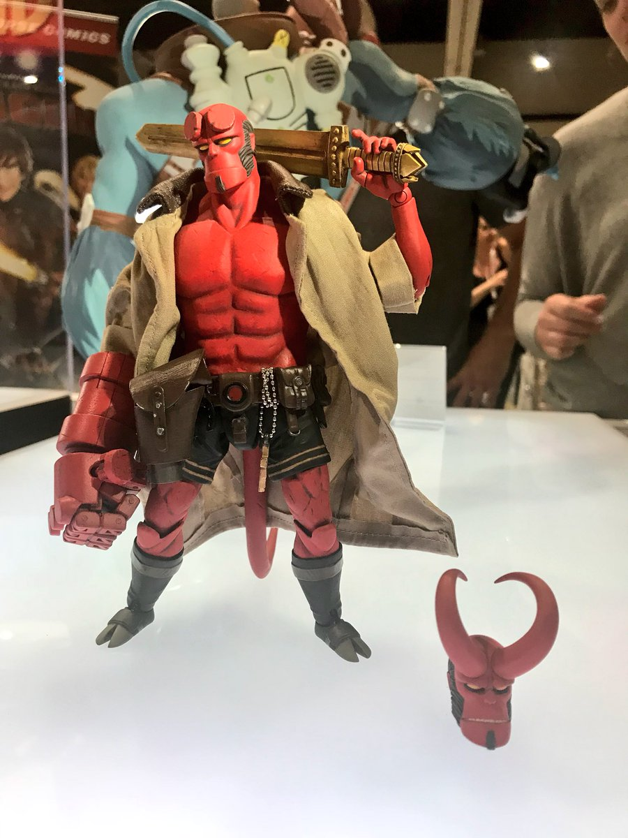 Dark Horse Displays Hellboy Action Figure At Sdcc Previews World