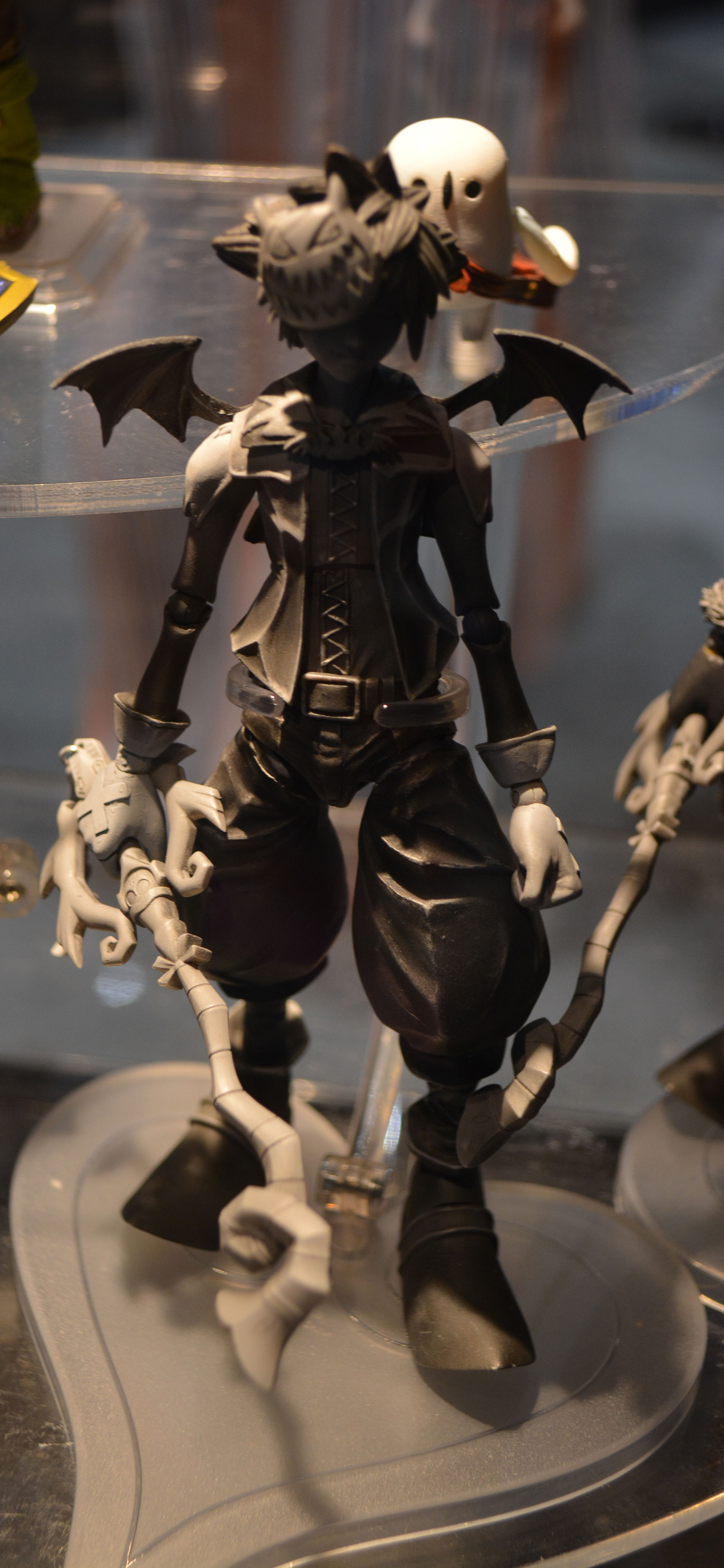 Seen At Sdcc Kingdom Hearts Action Figures From Square Enix