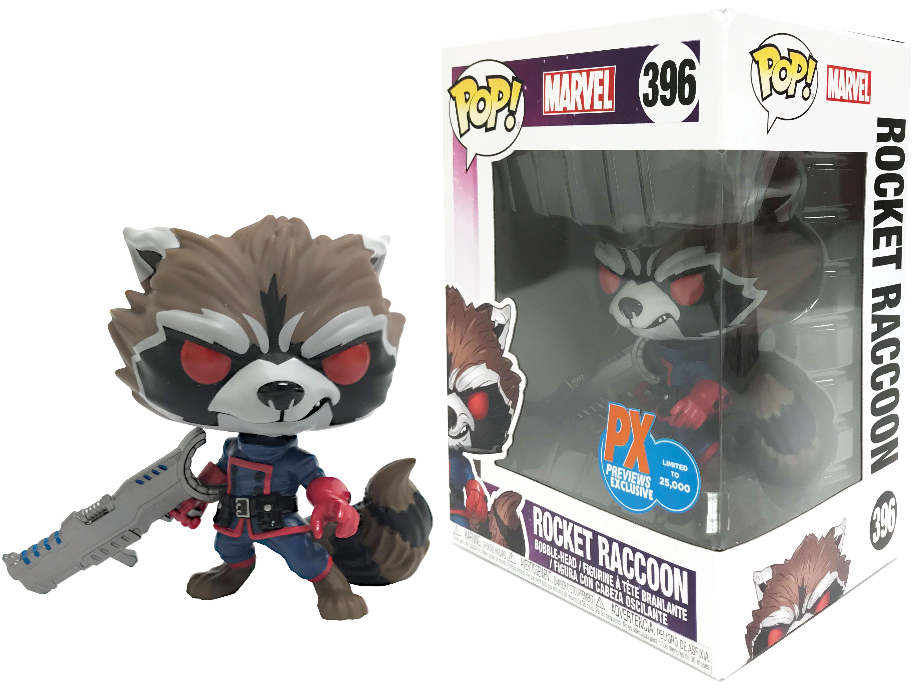 PREVIEWS Exclusive Classic Rocket Raccoon Funko Pop