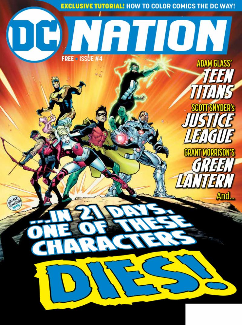 dc reveals contents of dc nation 4 free at comic shops september 5