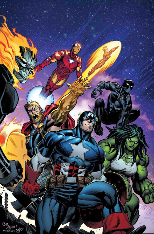 Avengers 10 SEP180829 Marks The 700th Issue Of Ever Released And You Can See Variant Covers For Below